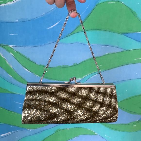 Vintage Handbags - 🌈 CHOOSE 3/$30 VINTAGE 90s Y2k gold mini purse